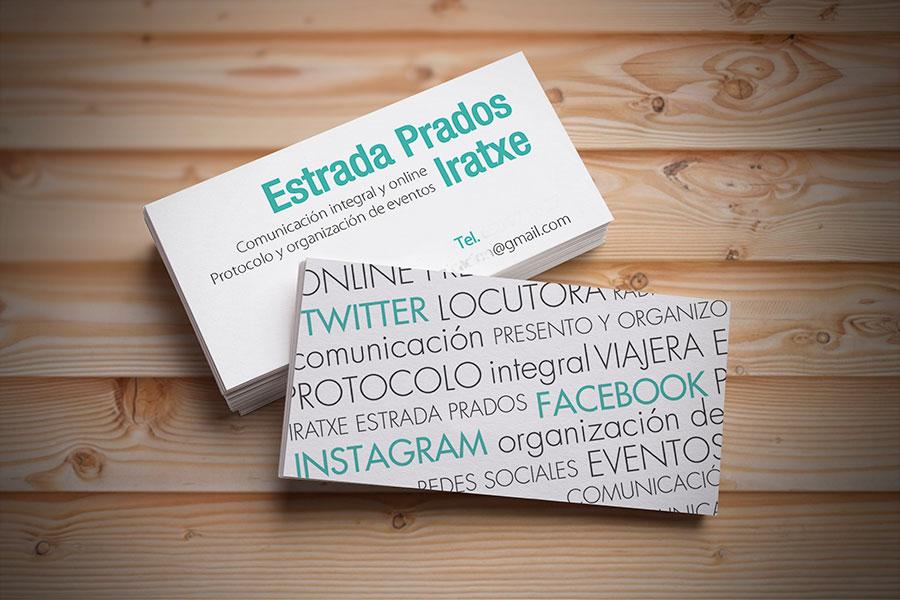 diseño tarjeta de visita