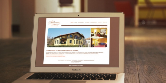 web reservas hotel