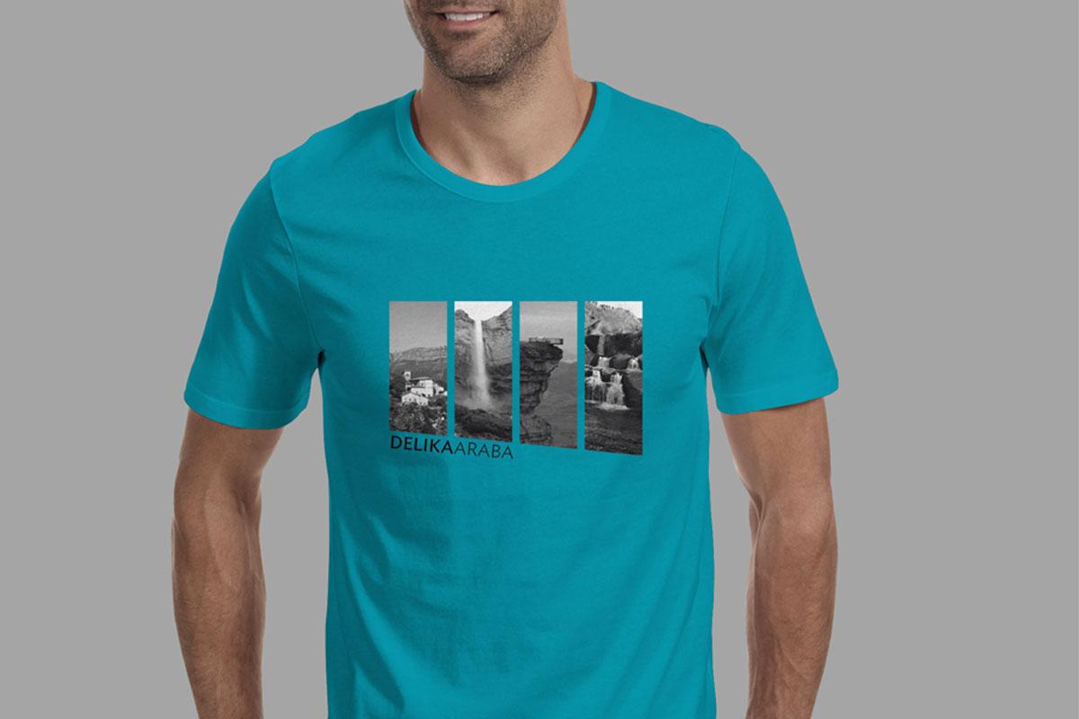 diseño de camiseta para Delika