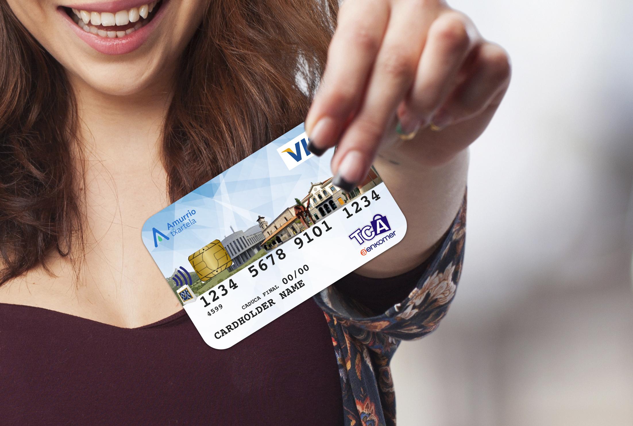 AENKOMER tarjeta de credito de fidelización TCA