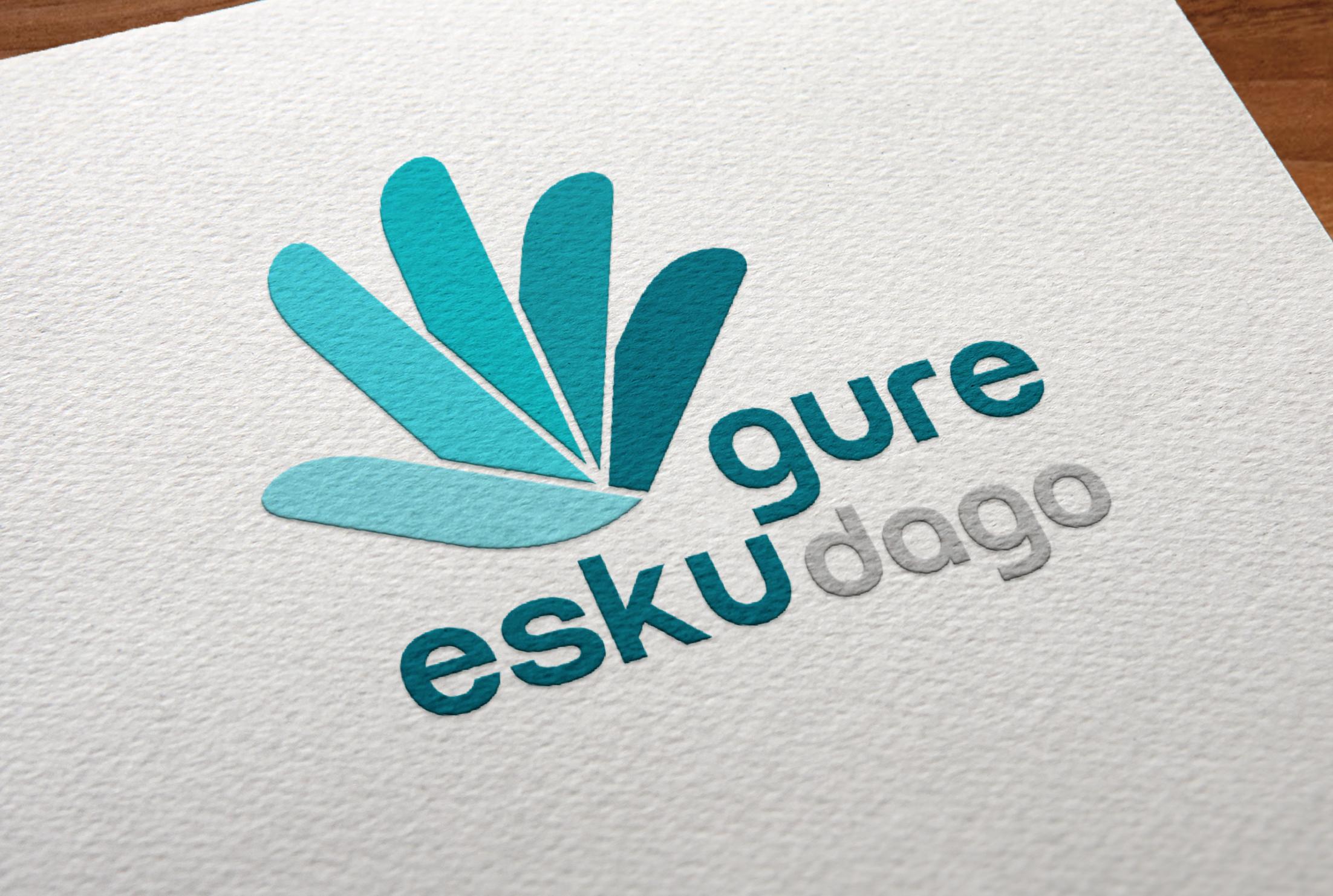 GURE ESKU DAGO rediseño del logotipo