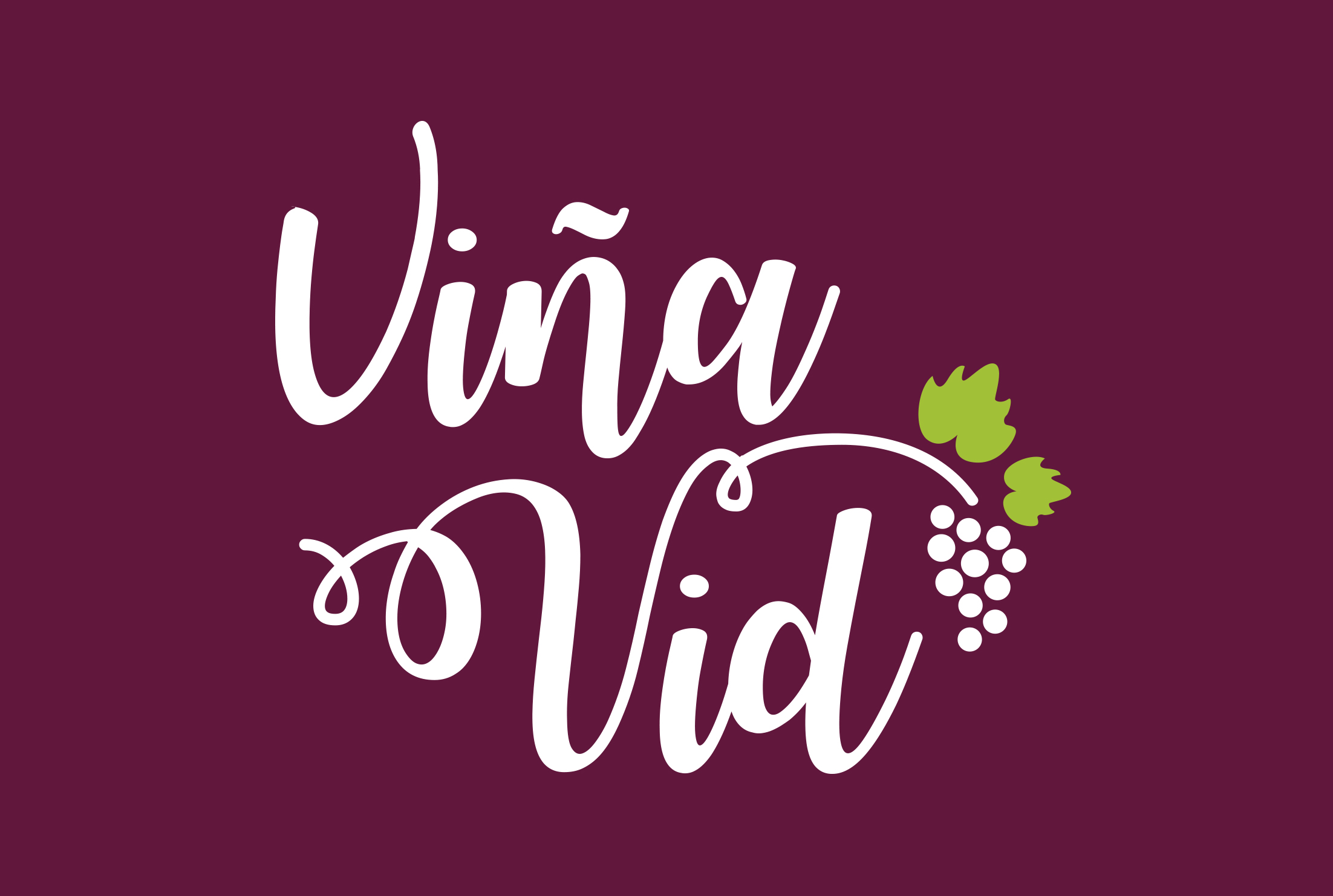 VIÑA VID logotipoa eta txartelak