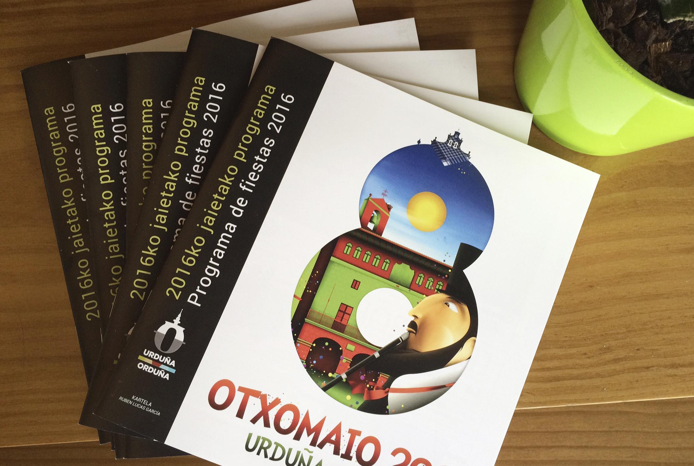 AYTO ORDUÑA libro de fiestas